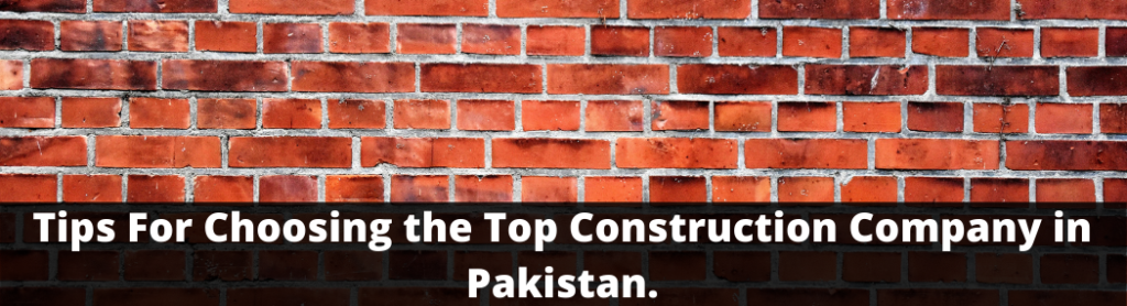 Top construction company